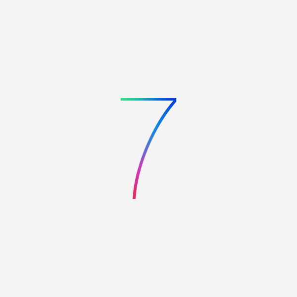 ios 7 wallpaper iOS 7與OS X 10.9新Logo現身WWDC展會
