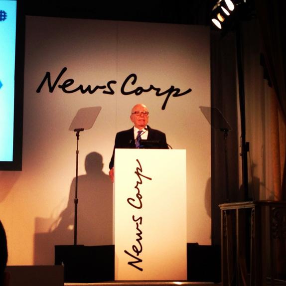 news corp new logo photo 默多克字跡:新聞集團分拆後的出版業務集團新LOGO