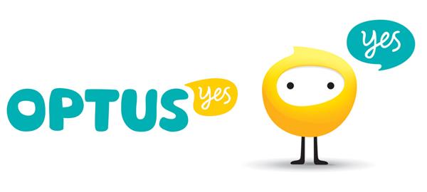optus logo 澳大利亚第二大电信公司Optus新标识和卡通形象