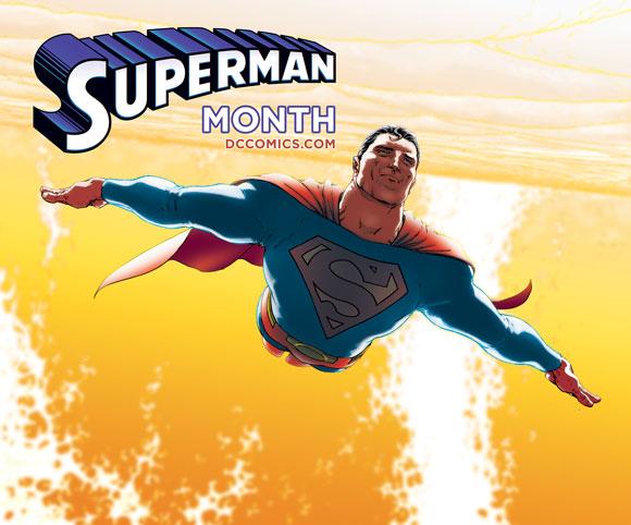"superman 75 logo 5 漫画商推新标志纪念""超人""诞生75周年"