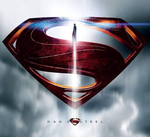 "superman 75 logo 6 漫画商推新标志纪念""超人""诞生75周年"