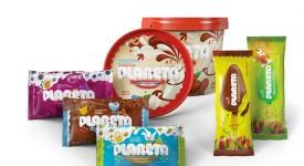 用童趣妝點生活,立陶宛冰淇淋品牌 Planeta 穿新衣