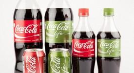 用颜色传达品牌特色,惊!可口可乐变成绿色包装了!!