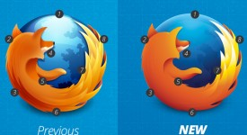 Firefox也默默调整Logo了