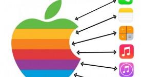 [爆料]-iOS7的设计风格其实跟苹果之前的logo是有关联的