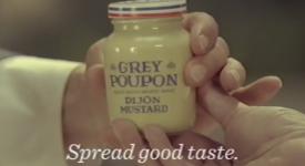 分享美味的快乐!美国老牌芥末酱公司如何改编旧广告?