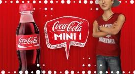 新Mini瓶身!可口可樂幫你製造小人!