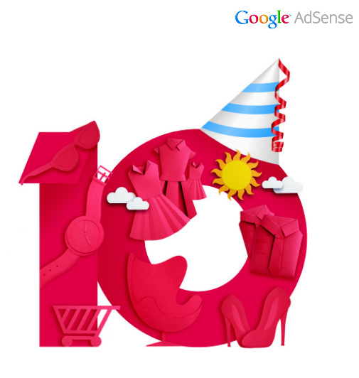 google-adsense10years
