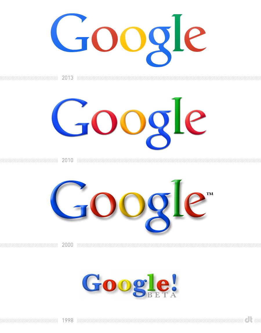 Google發布扁平化新Logo