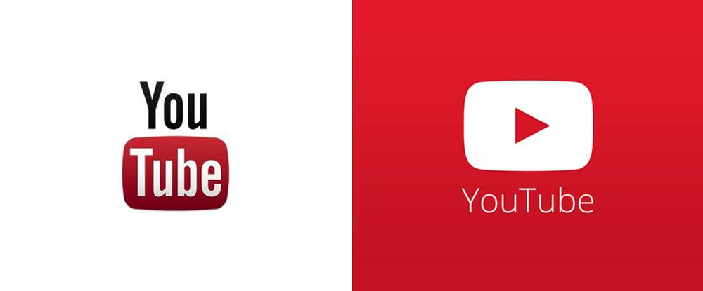 youtube 扁平化設計跟風,替未來新logo試水溫!?