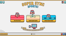 Google Chrome實驗室的新遊戲-Super Sync Sports介紹