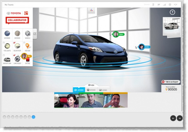 Toyota-Google+-page