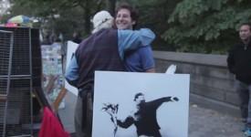 街头艺术家Banksy 真迹脱去大师光环还值不值?