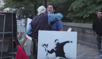 街頭藝術家Banksy 真跡脫去大師光環還值不值?
