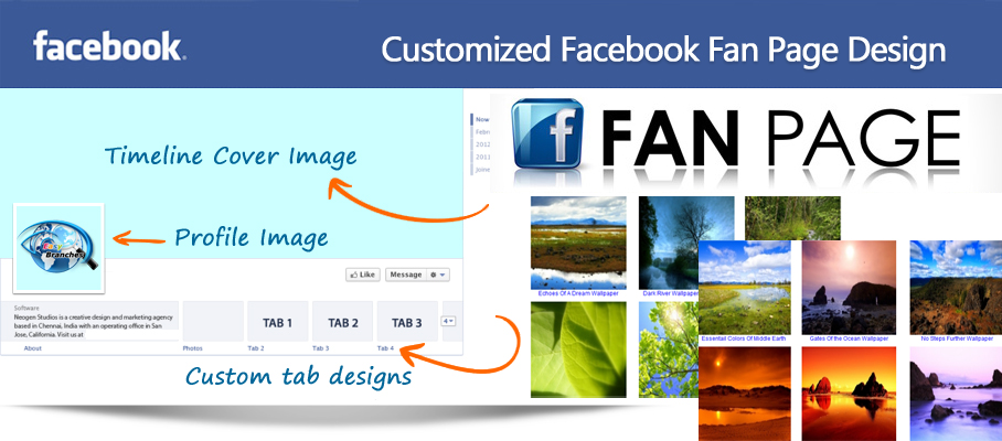 customized-facebook-fan-page-design