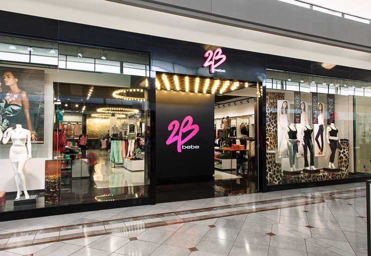 "2b bebe store 美國知名女裝零售商碧碧旗下品牌""2b""新Logo"
