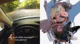 LEXUS特技級科技-透過你的開車習慣繪畫出你的自畫像,相似度高達8成!