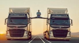 卡車上的瘋狂一字馬–從Volvo廣告看品牌形象