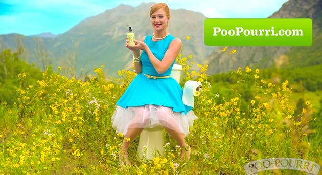 馬桶上的女神,poo Pourri告訴你直白的廣告也可以很有效! 品牌癮-法博思品牌顧問