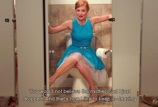 馬桶上的女神,Poo-Pourri告訴你直白的廣告也可以很有效!