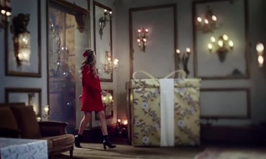 英國瑪莎百貨聖誕形象廣告  帶你進入童話世界shopping!