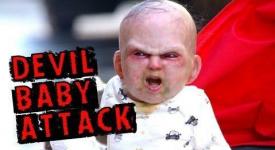 [Oh,Shiiiiiiiit] 驚嚇指數百分百的惡魔寶寶~電影公司利用病毒影片免費大打廣告!!!