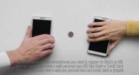创意马力夯- 超省钱广告!手机+硬币也能玩桌上型曲棍球!