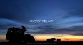 30歲生日快樂! Apple Macintosh電腦!