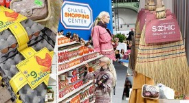 用时尚超市占领世界,香奈儿让你买东西也能走起台步!