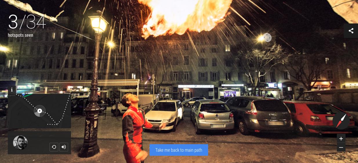 Google Maps的最新計劃:Night Walk帶你走夜晚的法國
