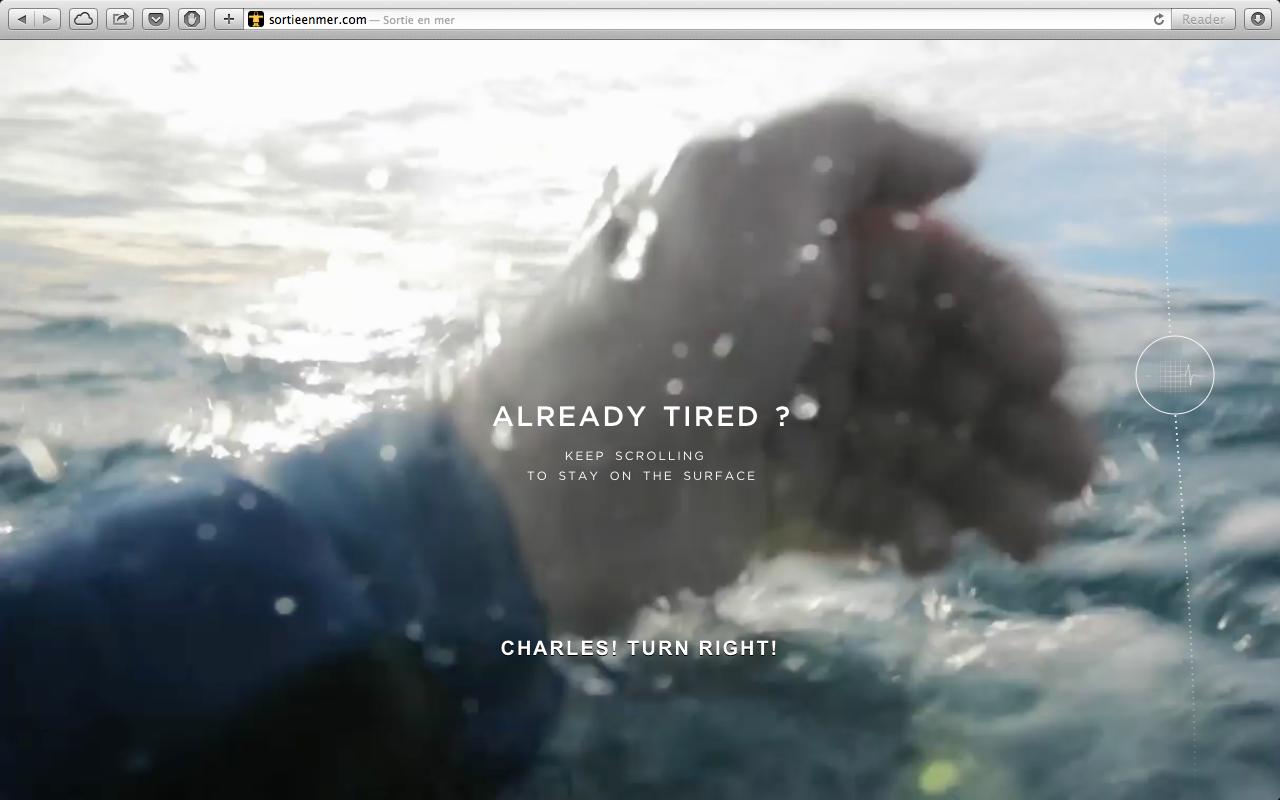 溺水恐懼症勿入!讓人冷汗直流的救生衣品牌互動式網頁行銷案例分享