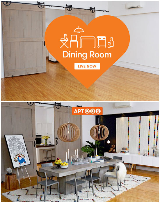 Ross Cassidy CB2 Apartment Before and After CB2 Takes Decorating to New Level with Pinterest Apartment