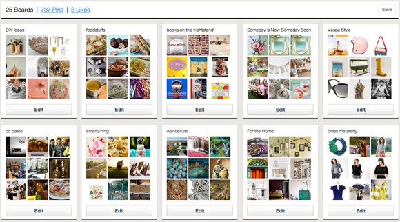 pinterest, using pinterest, pinterest invites, inspiration board