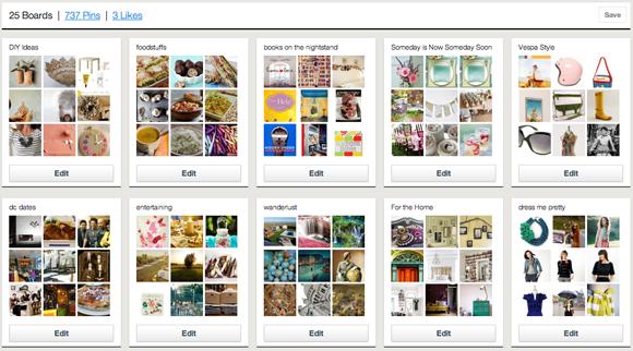 pinterest, using pinterest, pinterest invites, inspiration board