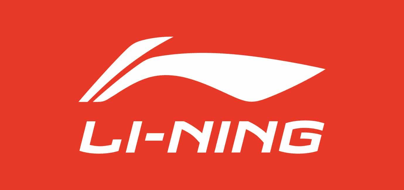 李寧logo with English