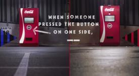 可口可乐的异想天开,竟想利用自动贩卖机造就两敌对粉丝们和好相处!?