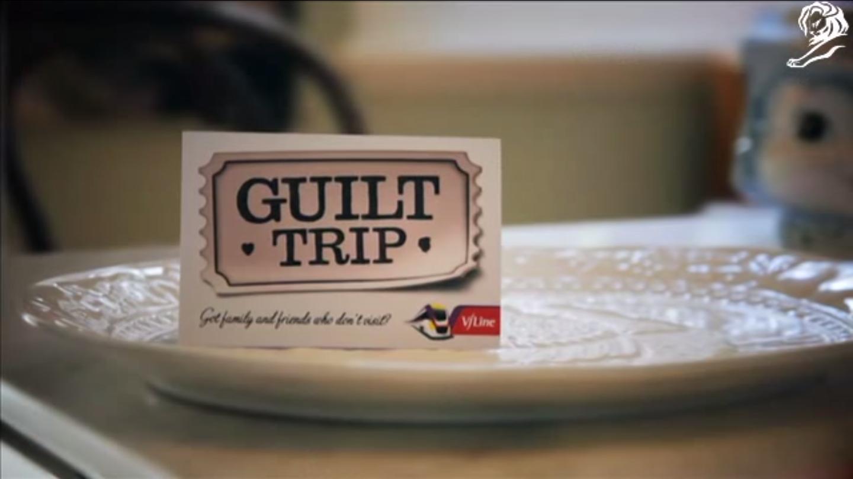 """『坎城國際創意節案例分享』-最感人(有罪惡感)的火車票 """"Guilt Trip"""