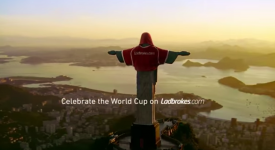 基督也瘋狂!里約熱內盧的幽默行銷,詮釋每個巴西孩子的足球夢