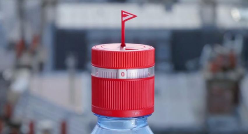 史上最讓人煩躁的瓶蓋誕生,法國Vittel礦泉水讓你煩到想扭開它!