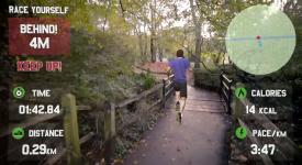 [Google Glass限定]-超真實的虛擬實境運動App,有了它運動再也不無聊!