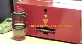 【創意行銷】全新的廣告媒體-咖啡隔熱杯套竟也能當作宣傳管道!?