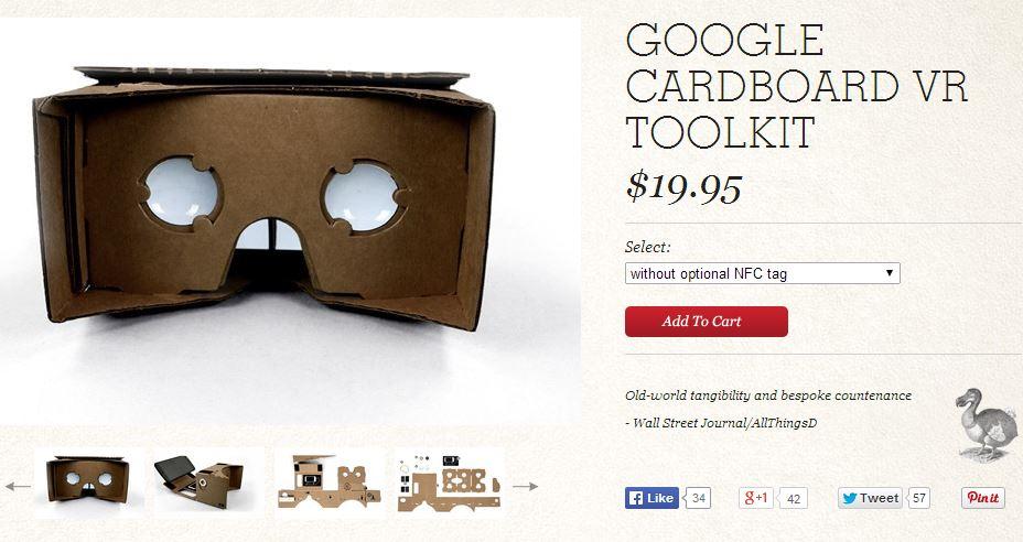 Google-Cardboard-Tool-Kit