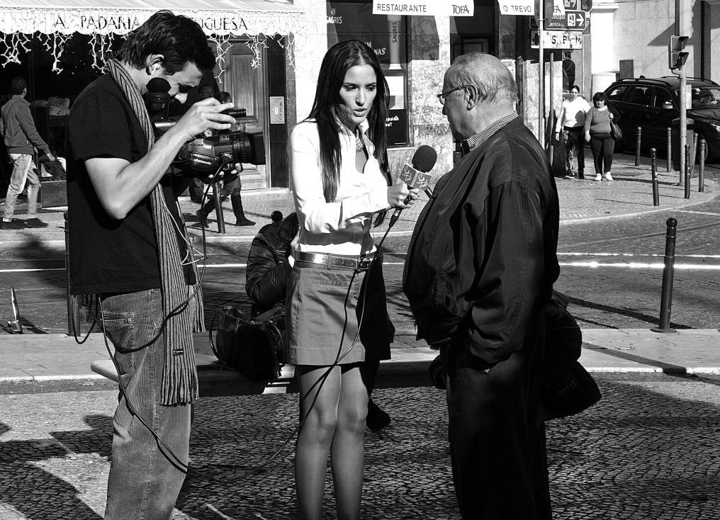 Street TV interview