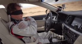 """[眼罩x跳车x放双手] : Hyundai汽车用""""玩命""""让你知道他的""""安全"""""""