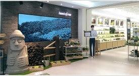 Innisfree東區概念店與數位科技無縫結合