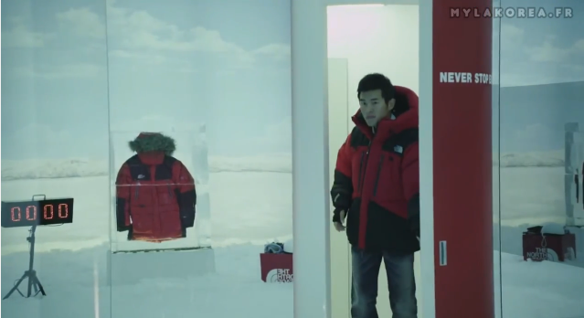 韓國The North Face創意行銷案例-通往納尼亞王國的試衣間!?