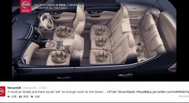 搭上皇室順風車, Nissan提升新車銷售量!! 社群行銷與時事新聞的界線已越來越模糊…