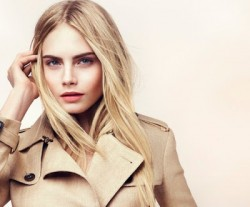 Cara Delevingne burberry beauty