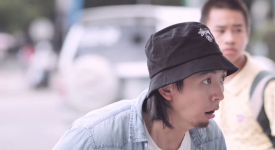 """橘色魔力席捲馬路!! Toyota YARIS台北街頭""""玩超大""""~"""