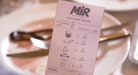 天下有白吃的午餐? Mir Restaurant讓你來洗碗換餐!!